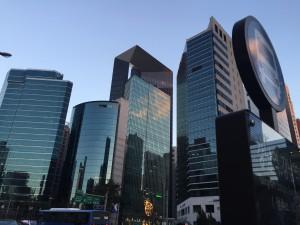 Skyscrapers in Gangnam, Seoul